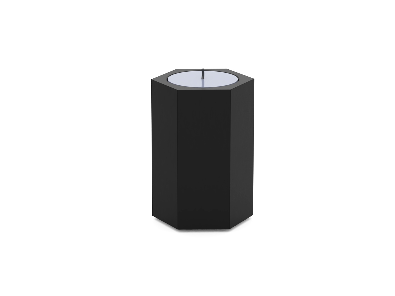 BLACK Urn CANDLE ZESKANT